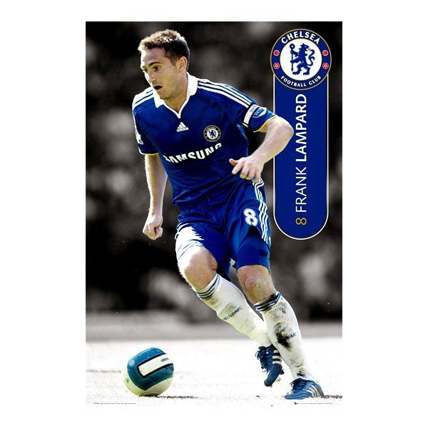 Chelsea Lampard Player Poster