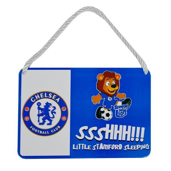 Chelsea Mascot Bedroom Sign