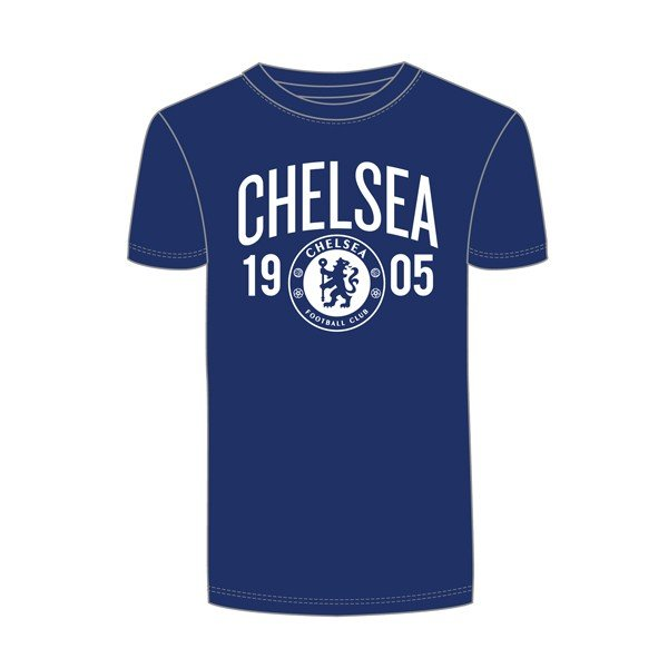 Chelsea Mens Navy T-Shirt - XXL