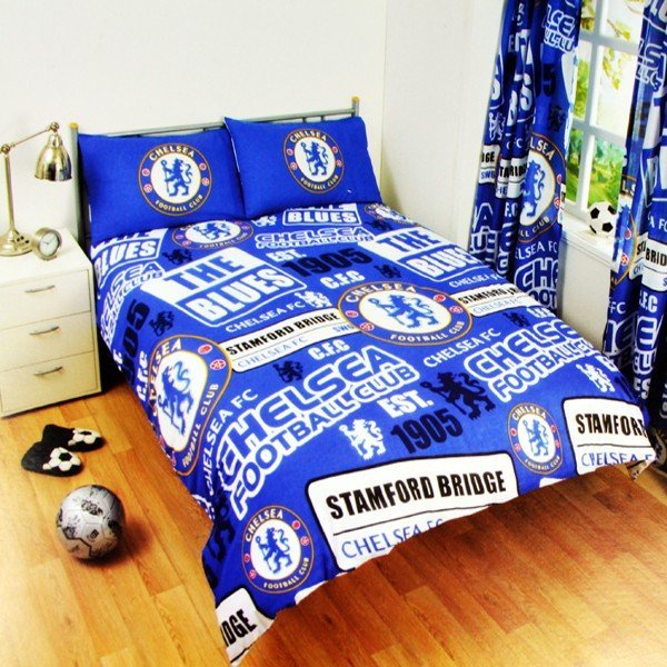 Chelsea Patch Double Duvet Set