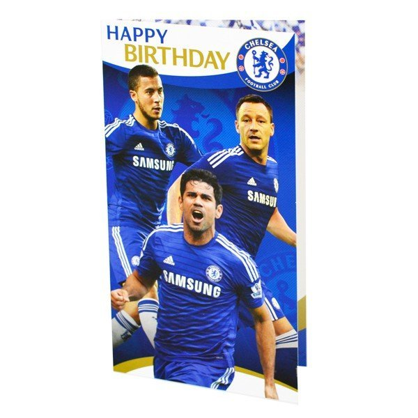 Chelsea Player Birthday Card - 6PK