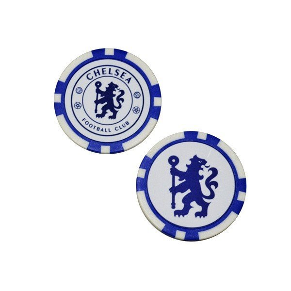 Chelsea Poker Golf Ball Marker - 2PK
