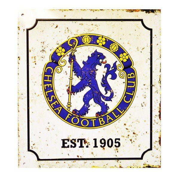Chelsea Retro Logo Sign