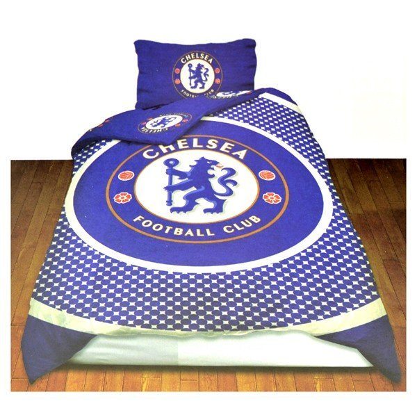 Chelsea Reversible Bullseye Single Duvet Set