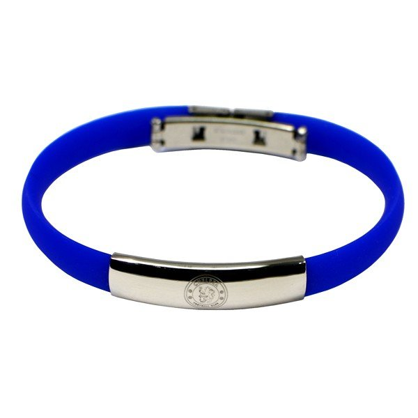 Chelsea Silicone Crest Bracelet
