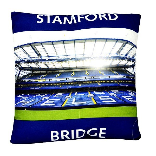 Chelsea Stadium Transfer Print Cushion
