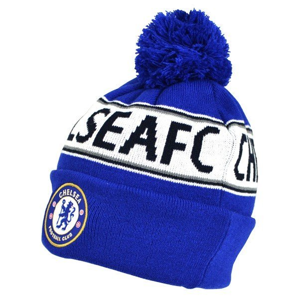 Chelsea Text Cuff Knitted Hat
