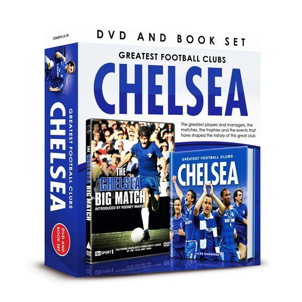 Chelsea The Big Match DVD And Book Set