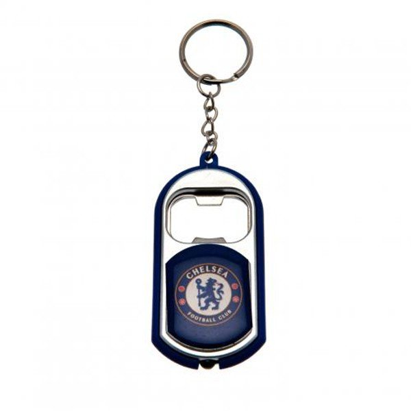 Chelsea Torch Light Bottle Opener Keyring