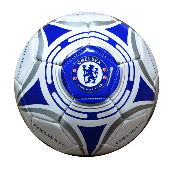 Chelsea White Star Football - Size 5