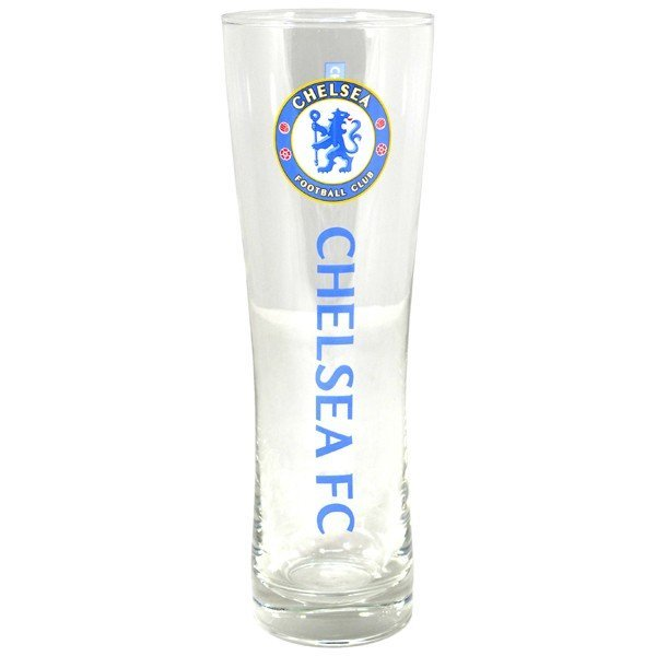 Chelsea Wordmark Crest Peroni Pint Glass