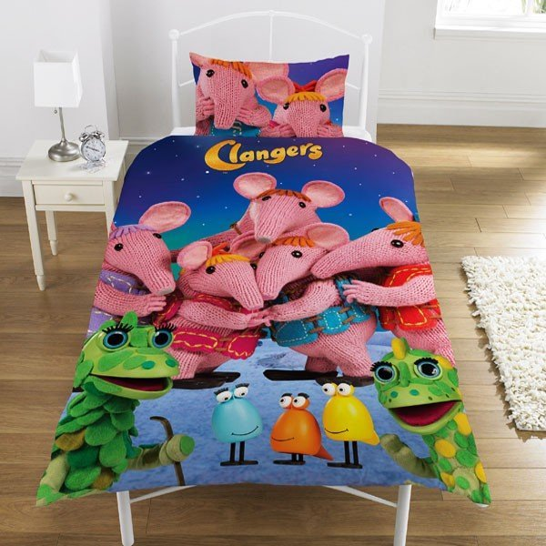 Clangers Single Duvet - Glow In The Dark Stars