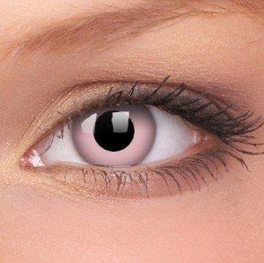 Barbie Pink Coloured Contact Lenses (1 Year)