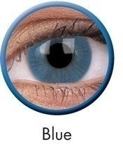 Blue Basic Coloured Contact Lenses (90 Day)