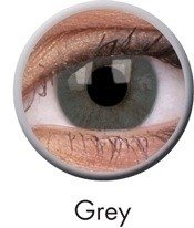 Grey Basic Coloured Contact Lenses (90 Day)