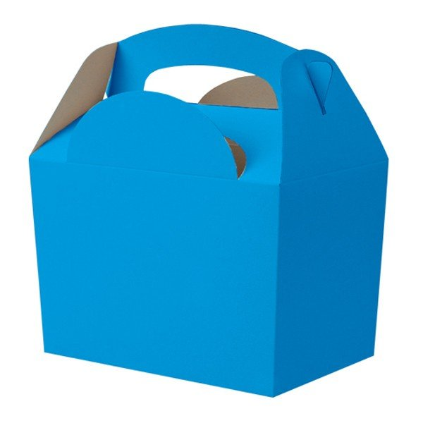 Colpac Party Boxes - Bright Blue