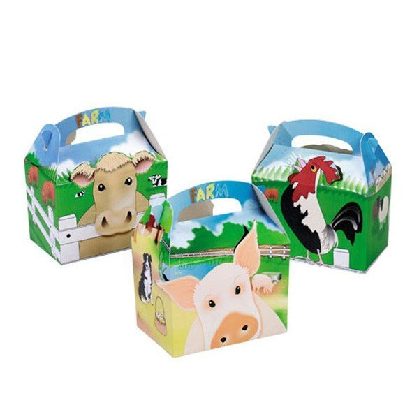 Colpac Party Boxes - Farm