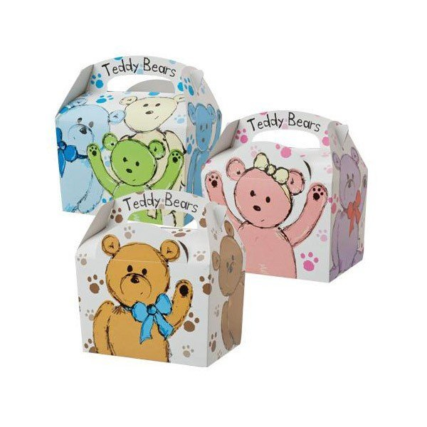 Colpac Party Boxes - Teddy Bears