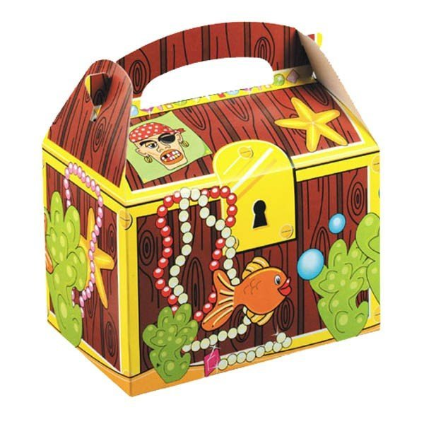 Colpac Party Boxes - Treasure Chest