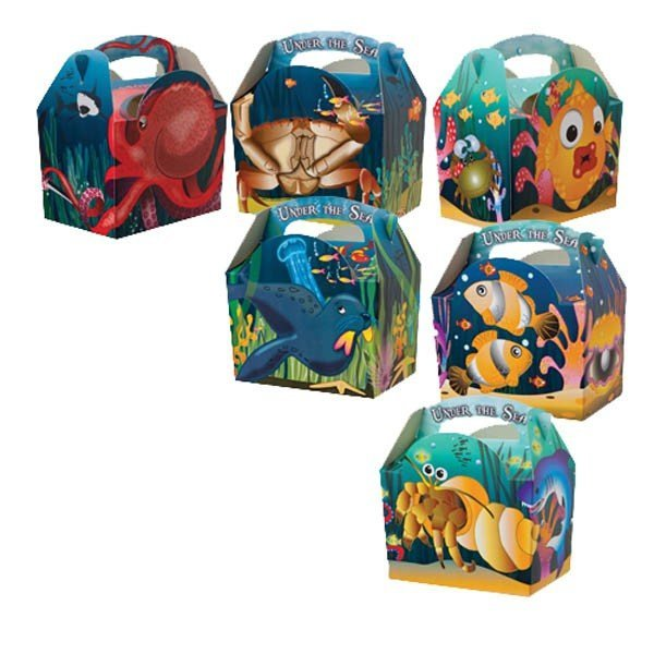 Colpac Party Boxes - Under the Sea