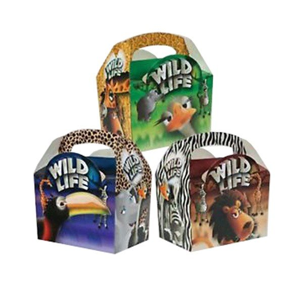 Colpac Party Boxes - Wild Life