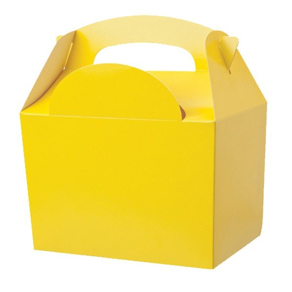 Colpac Party Boxes - Yellow