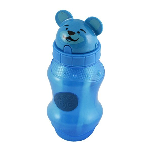 Cool Gear Flip Top Zooey 12oz Water Bottle - Blue