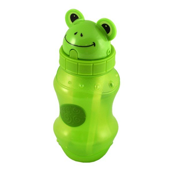 Cool Gear Flip Top Zooey 12oz Water Bottle - Green
