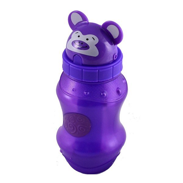 Cool Gear Flip Top Zooey 12oz Water Bottle - Purple