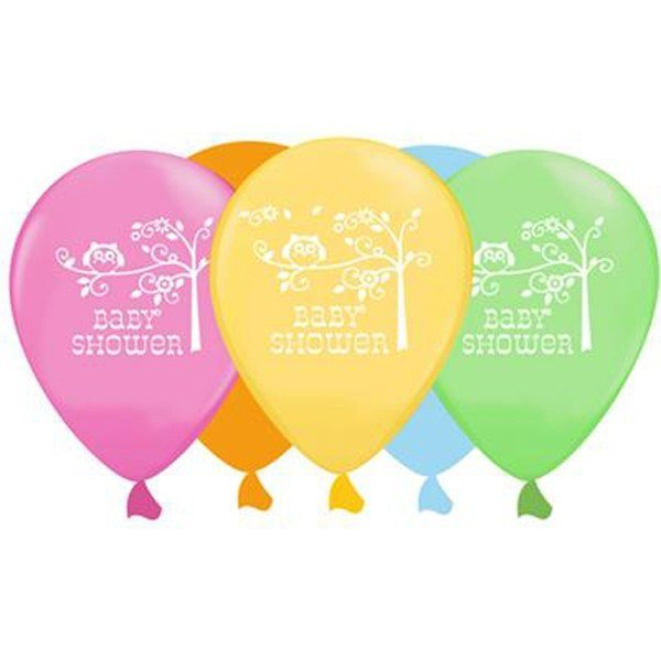 Creative Party 12 Inch Latex Balloon - Baby Shower