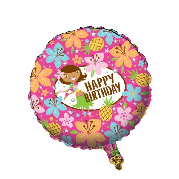 Creative Party 18 Inch Foil Balloon - Pink Luau Fun