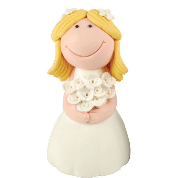 Creative Party Cake Topper - Blonde Bride