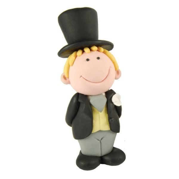 Creative Party Cake Topper - Blonde Groom