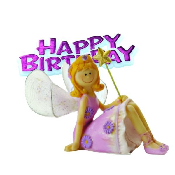 Creative Party Cake Topper - Fairy Princess & Motto