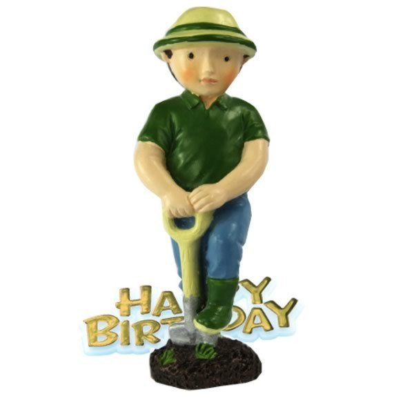 Creative Party Cake Topper - Gardener & Motto