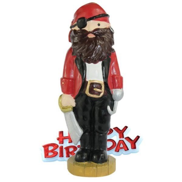 Creative Party Cake Topper - Pirate & Motto