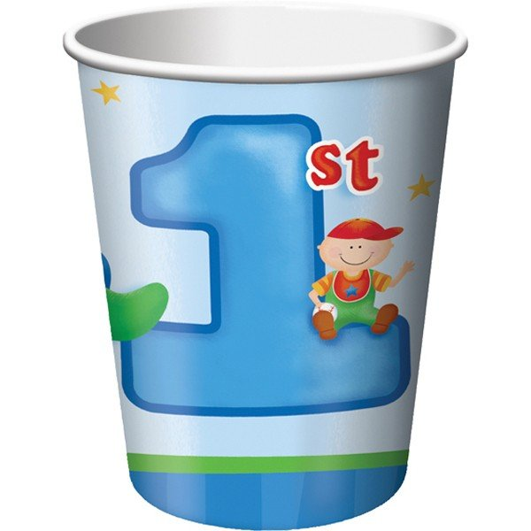 Creative Party Cups - Fun At 1 Boy