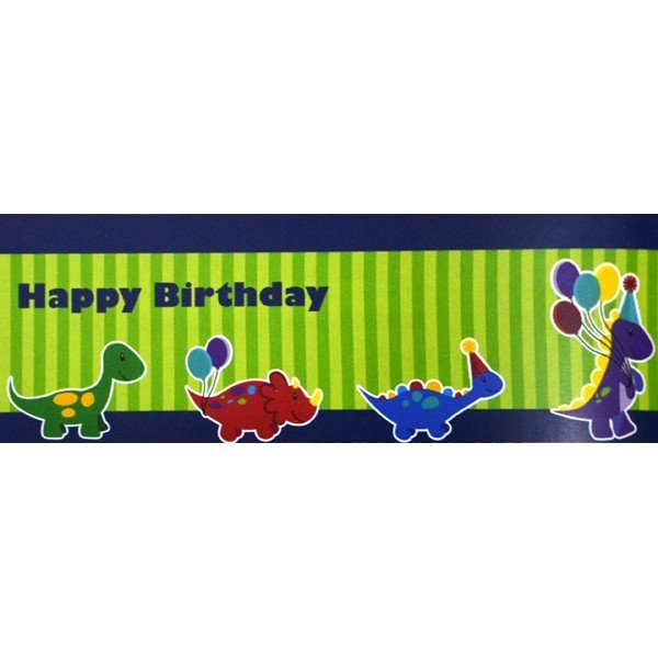 Creative Party Giant Banner - Little Dino Party