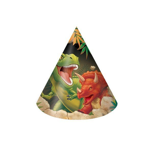 Creative Party Hats - Dino Blast