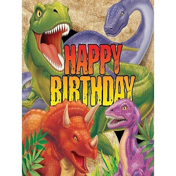Creative Party Lunch Napkins - Dino Blast Birthday
