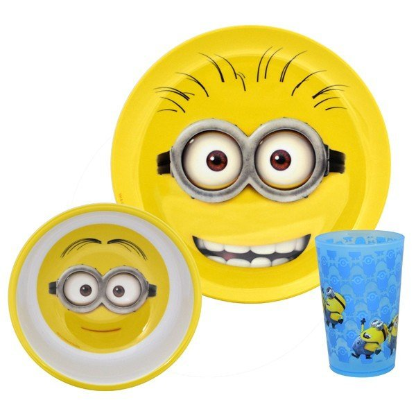 Despicable Me2 3PC Dinner Set