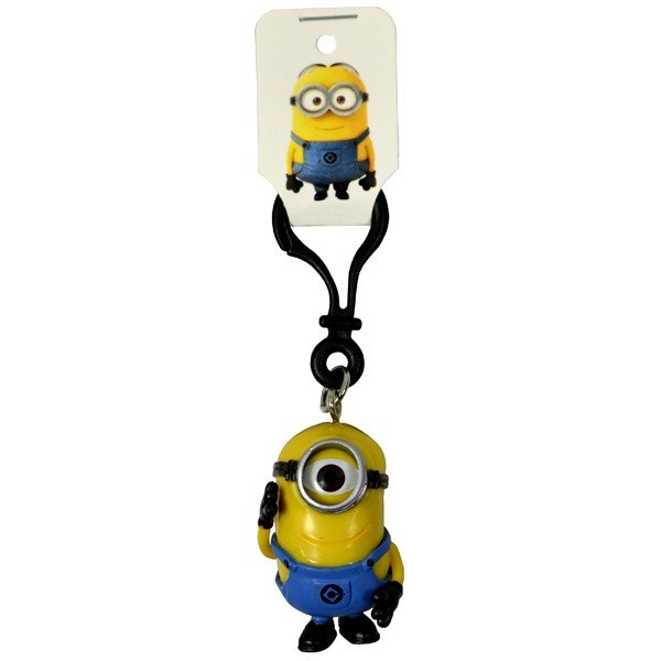 Despicable Me 2 3D Minion Stuart Keyring