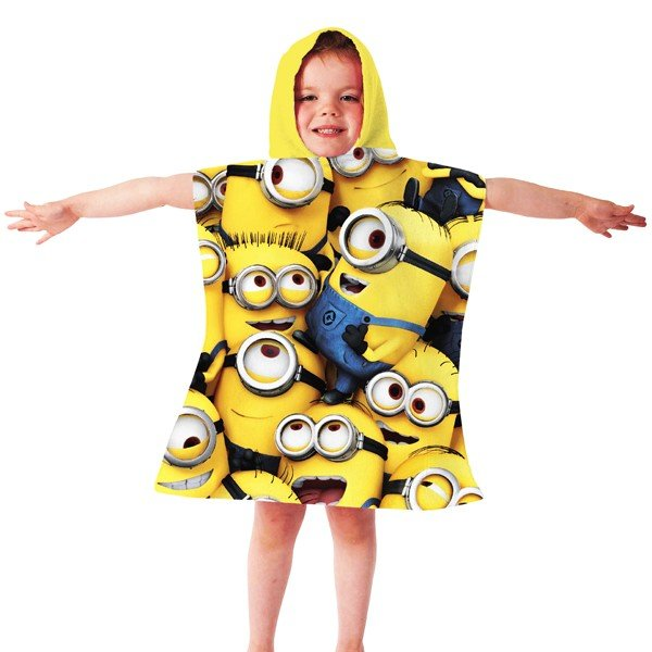 Despicable Me Minion Hooded Poncho