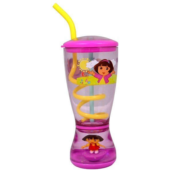 Dora The Explorer Glitter Dome Tumbler