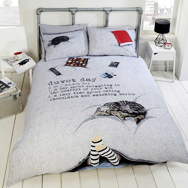 Duvet Day Single Duvet Set