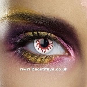 EDIT Colour Vision Blood Splat Contact Lenses