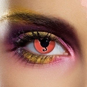 EDIT Crazy Little Miss Devil Contact Lenses