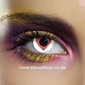 EDIT Crazy Queen Of Hearts Contact Lenses