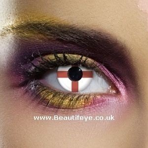 EDIT Flag St George Contact Lenses