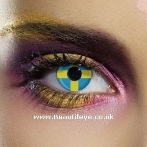 EDIT Flag Sweden Contact Lenses
